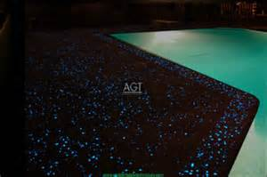 Glow in the Dark Concrete Rocks