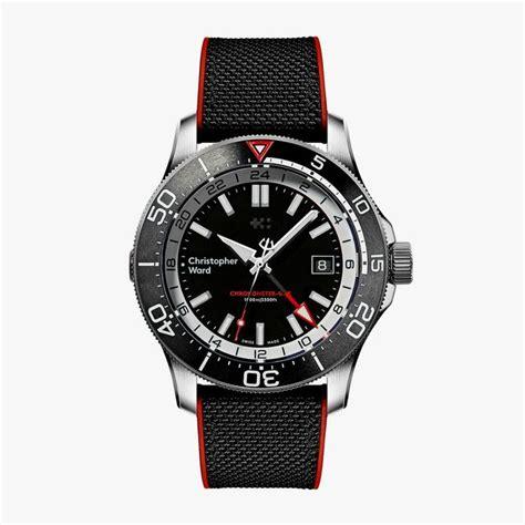 gmt ward c60 christopher elite 1000 timepiece divers serious titanium