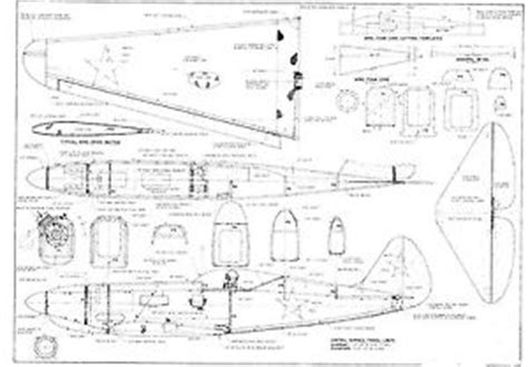 Electric Boat Vision Plan by 1500 Rc Model Airplane Plane Plans With Bonus Free Gift