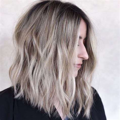 stylish shoulder length haircuts women medium hairstyles