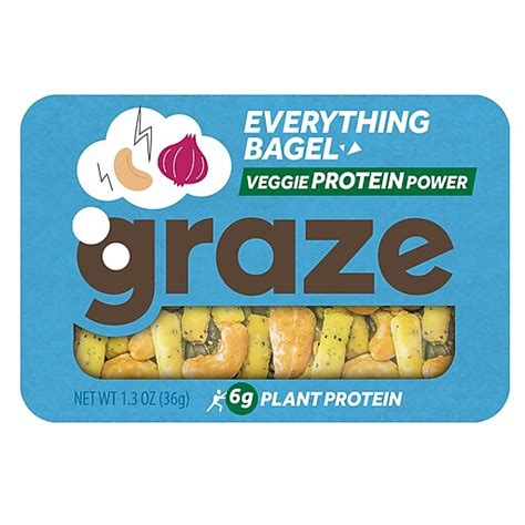 It's available on the iphone and android. Graze Snack Mix, Everything Bagel, 1.3 Oz., 6/Box (NDD10123) at Staples