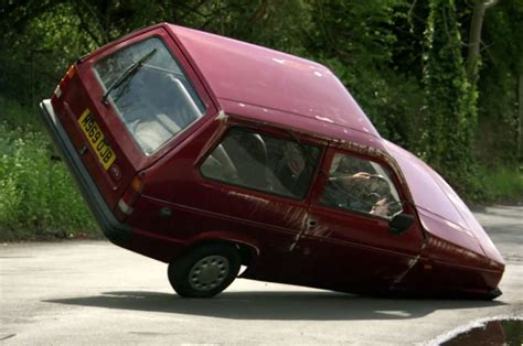 reliant robin clarkson top gear s reliant robin was rigged for comedic