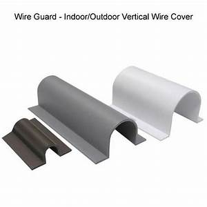 Wire Guard Indoor  Outdoor Cable Covers  Need These For