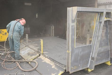 Shot Blasting   Shirley Industrial Painters