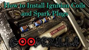 How To Install Splitfire Ignition Coils And Spark Plugs - R32 Skyline Gtr    Rb26dett