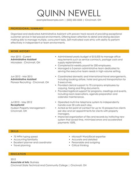 How Do You Format A Resume by Resume Format Guide And Exles Choose The Right Layout