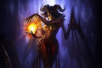 Fantasy Supernatural Horns Beings Magic Wallpapers Wallpaperup