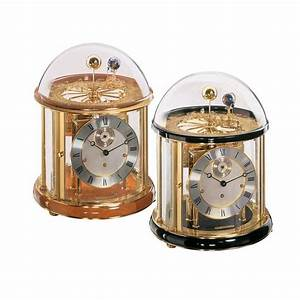 Hermle Tellurium I Mechanical Table Clock  22805740352  Black