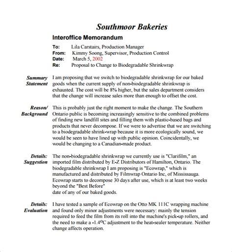 sample informal proposal template   documents