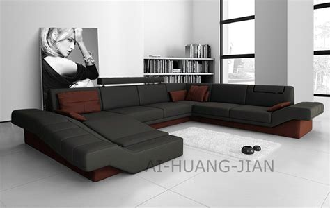Modern Leather Sofa With Chaise Images. Grey Sofa Living Room Ideas On Your Companion . Small