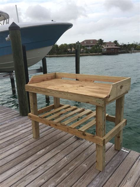 Dock Fish Cleaning Table With Sink by The World S Catalog Of Ideas