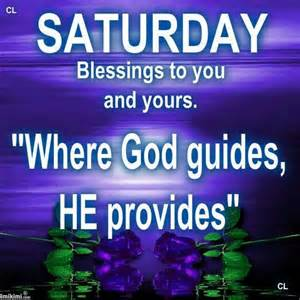 Saturday Blessings Quotes