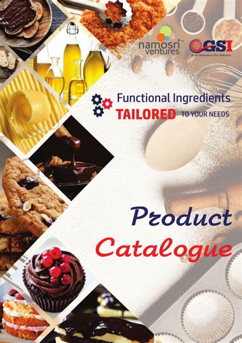 Functional Ingredients Catalogue 2018