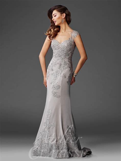 clarisse atelier  lace  evening gown