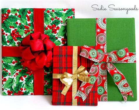 wrapped gifts diy christmas decor