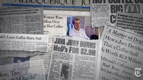 The infamous mcdonald's hot coffee lawsuit is often lauded as an example of frivolous lawsuits brought by people who are just trying to scam businesses into paying them money. Watch the Story Behind the McDonald's Coffee Lawsuit - Eater