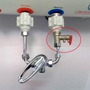 Water Heater Check Valve Location