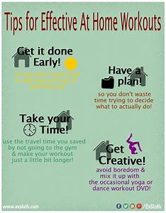 how to exercise at home effectively infographic diary of