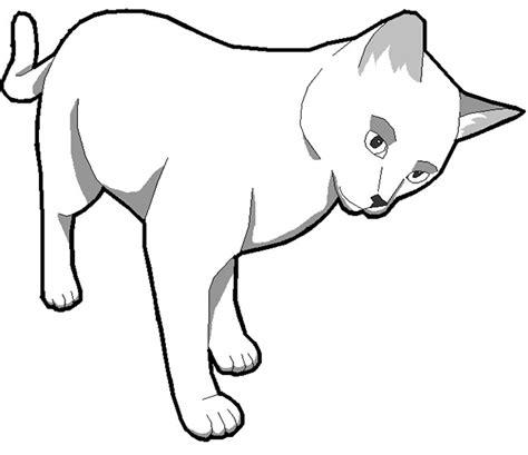 Cat Template Cat Shape Template Animal Templates Free Premium
