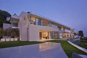 Fresh Lay Out Of A House by Large Modern Home With Lovely City Views Bel Air Los