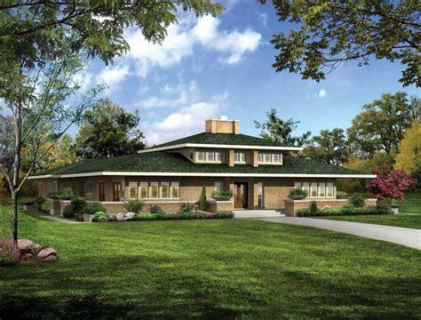 high resolution prairie style home plans  prairie style