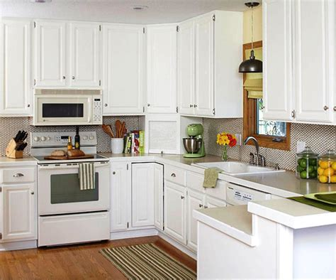 Ideas To Update Kitchen Cabinets - basic white kitchen cabinets winda 7 furniture