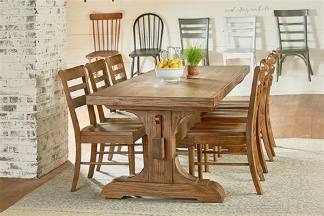 rustic dining room table for rustic farmhouse dining table farmhouse dining set 9263