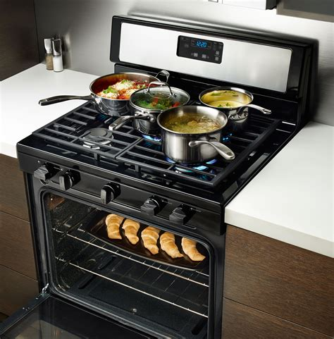 gas range downdraft stainless cooktop whirlpool burner kitchen cu ft steel griddle freestanding furniture cooking oven simple broiler surface homesfeed