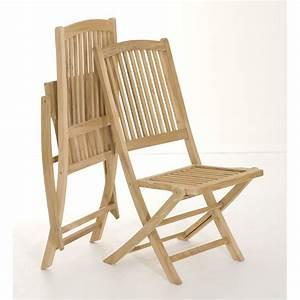 Chaise Salon De Jardin : salon jardin teck table 180x120cm 4 chaises 2 faut summer pier import ~ Teatrodelosmanantiales.com Idées de Décoration