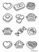 Candy Coloring Pages Printable Recommended Favorite Mycoloring sketch template