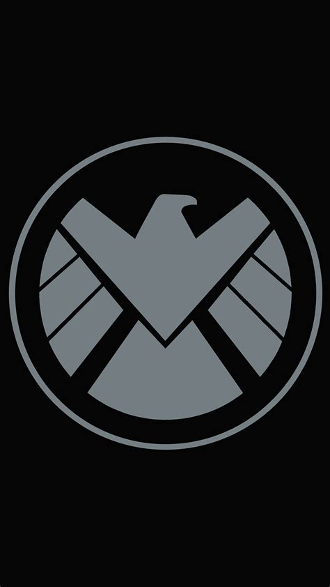 marvel shield hd wallpaper for your mobile phone