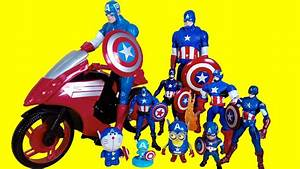 Captain America Toys Collection