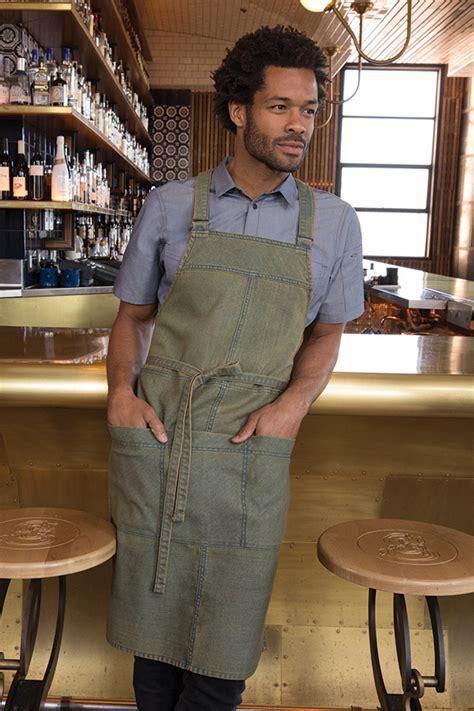 uptown cross  bib apron chefworkscom
