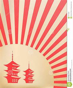 Japanese Vector Background Stock Photography - Image: 10774942