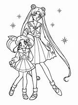 Coloring Sailor Moon Pages Sister Printable Brother Happy Birthday Cute Sisters Sheets Sailormoon Getcolorings Colouring Usagi Anime Twin Sis Chibiusa sketch template