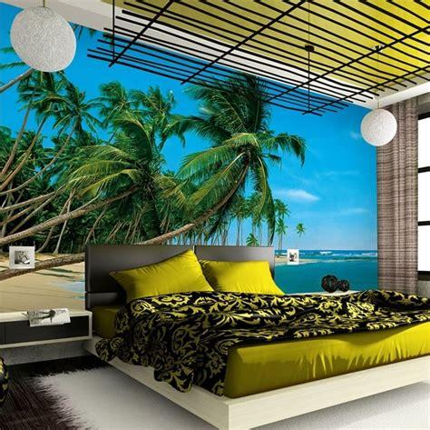 foto palme shop palmestrand fototapet flot fotostat med strand