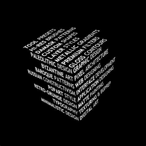 photoshop tutorial create unique 3d typography