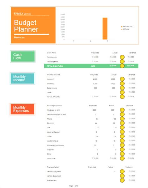 Family Budget Template Excel Family Monthly Budget Planner Driverlayer Search