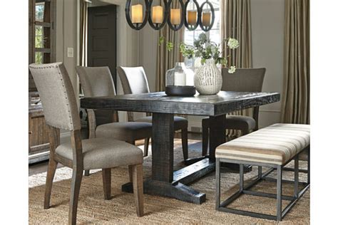 Dining Room: stunning ashley furniture round dining table
