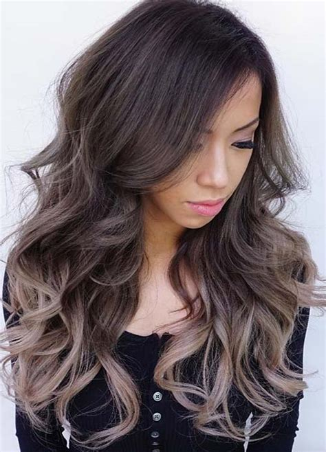 Color Hairstyles For Black Hair by 100 Hair Colors Black Brown