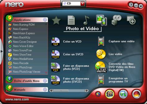 telechargement gratuit gravure dvd logiciel nero