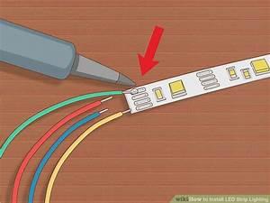 Led Strip Light Installation Instructions