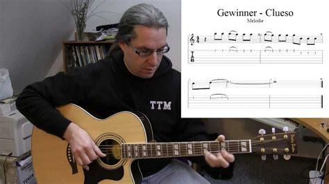 gitarre spielen lernen gewinner von clueso youtube