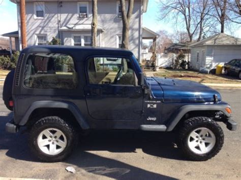 jeep soft top 4 door buy used 2002 jeep wrangler x sport utility 2 door 4 0l