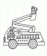 Fire Truck Coloring Drawing Pages Ice Cream Engine Firetruck Patrol Paw Outline Easy Trucks Vehicles Cars Transportation Printables Simple Printable sketch template