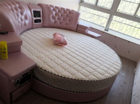 girls bedroom furniture pink big  leather bedcheap