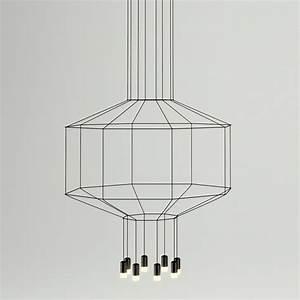 Vibia - Wireflow Hanging lamp Art 0299 - 0303 - luxury