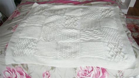 modele plaid tricot irlandais