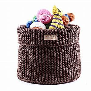 cotton toy basket by jolly bea39s dog cat accessories With dog toy basket