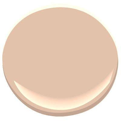 benjamin quot apricot beige quot 1205 foyer pink paint